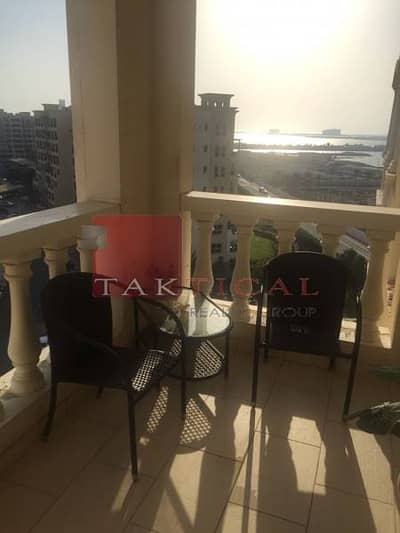 Fully Furnished Apt| Full Sea View  | Balcony