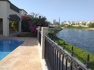 4 Bedroom Villa for Rent in Jumeirah Park, Dubai - 4 BR Lake View | Swimming Pool | Dist 4