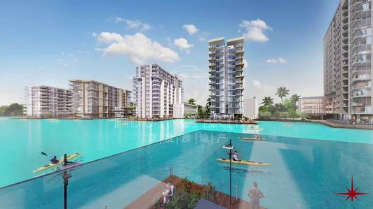 Building for Sale in Mohammad Bin Rashid City, Dubai - On Crystal Lagoon | G Plus 4  | High ROI