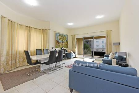 1 Bedroom Apartment for Rent in Green Community, Dubai - Spacious Corner One Bedroom   Garden View   Vacant
