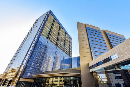 Office for Rent in The Greens, Dubai - Shell & Core Onyx Tower 2 Greens & Views