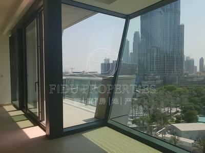 3 Bedroom Flat for Rent in Downtown Dubai, Dubai - Brand New | Full Fountain / B.Khalifa View