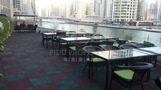 Shop for Sale in Dubai Marina, Dubai - Right on Marina Walk. Ideal for restaurant