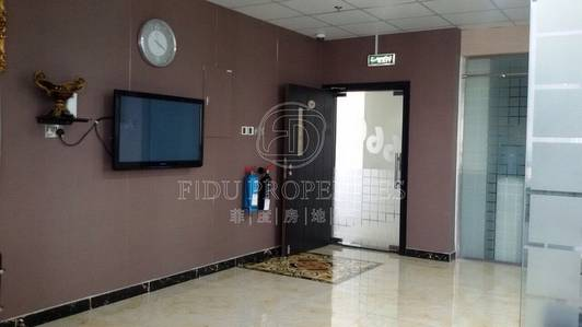 Office for Sale in Dubai Silicon Oasis, Dubai - Fitted office with partition in IT Plaza