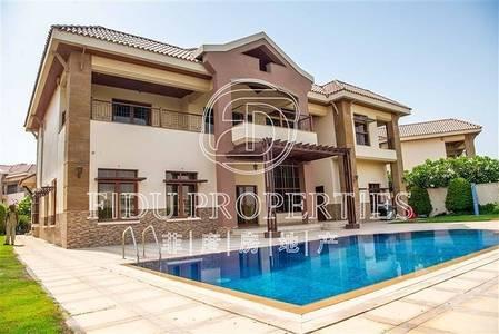 5 Bedroom Villa for Rent in Jumeirah Islands, Dubai - Below The Market Price | Modern Finishing