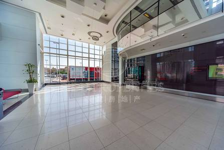 Shop for Rent in Jumeirah Lake Towers (JLT), Dubai - Open lobby space.   Convertible to shop.