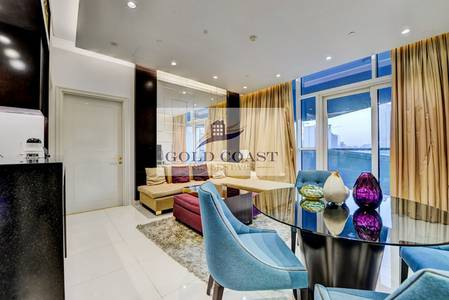 1 Bedroom Apartment for Rent in Downtown Dubai, Dubai - Fully Furnished 1BR in Damac Upper Crest
