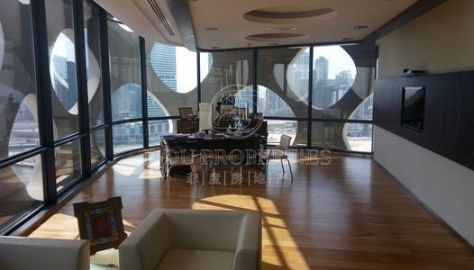 Floor for Sale in Business Bay, Dubai - Fully fitted | Negotiable | Canal Views