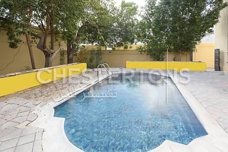 5 Bedroom Villa for Rent in Between Two Bridges (Bain Al Jessrain), Abu Dhabi - Independent  Villa  With  Swimming  Pool