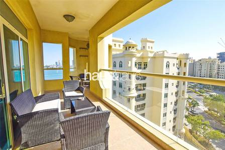 3 Bedroom Flat for Rent in Palm Jumeirah, Dubai - Type A | Sea view | Vacant 1st January |