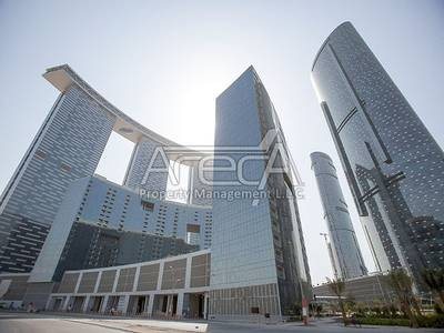 2 Bedroom Flat for Sale in Al Reem Island, Abu Dhabi - Exquisite, Spacious Sea Front 2 Bed Apt Sale in Gate Towers 1!