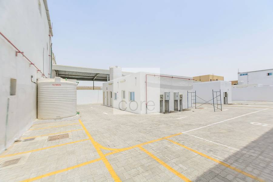 2 Fitted warehouse |Mussafah Industrial Area