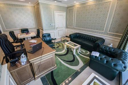 Office for Sale in Al Reem Island, Abu Dhabi - Fully Furnished Office Space in Addax Tower Reem Island
