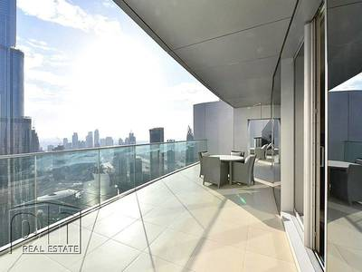 3 Bedroom Penthouse for Rent in Downtown Dubai, Dubai - Incredible 3bed+Maid+Study Duplex Penthouse