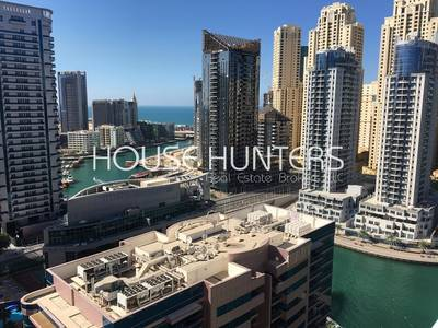 1 Bedroom Apartment for Sale in Dubai Marina, Dubai - Exclusive/ Sea and Marina view / High floor