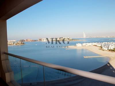 2 Bedroom Flat for Rent in Palm Jumeirah, Dubai - Full Sea View 2 Bed | D Type | Furnished