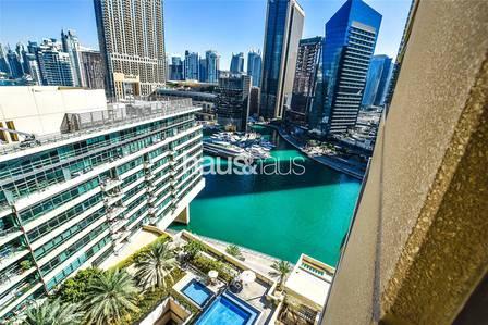 1 Bedroom Apartment for Rent in Dubai Marina, Dubai - Well presented    Marina View   Spacious