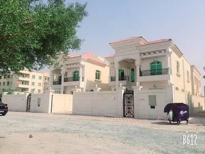5 Bedroom Villa for Sale in Al Mowaihat, Ajman - Marble frontage villa super deluxe finishing for sale in Ajman