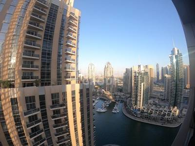 2 Bedroom Apartment for Rent in Dubai Marina, Dubai - Brand New 2 BR with Marina View at No. 9