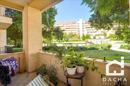 1 Bedroom Apartment for Rent in Motor City, Dubai - CORNER APARTMENT WITH VIEWS OF THE GARDENS