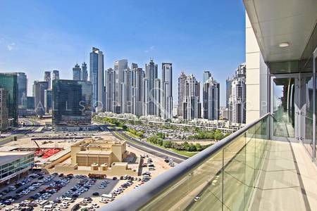 2 Bedroom Apartment for Rent in Downtown Dubai, Dubai - Brand New   Two Bedrooms   Large Balcony
