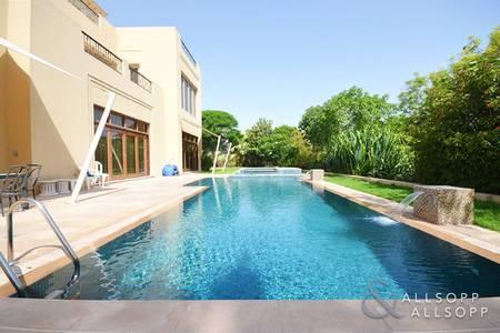 7 Bedroom Villa for Rent in Al Barari, Dubai - Seven Bedrooms   Upgraded   Backing Lake