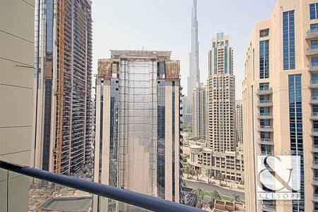 2 Bedroom Apartment for Sale in Downtown Dubai, Dubai - Partial Burj Khalifa Views | Vacant | 2 Bed