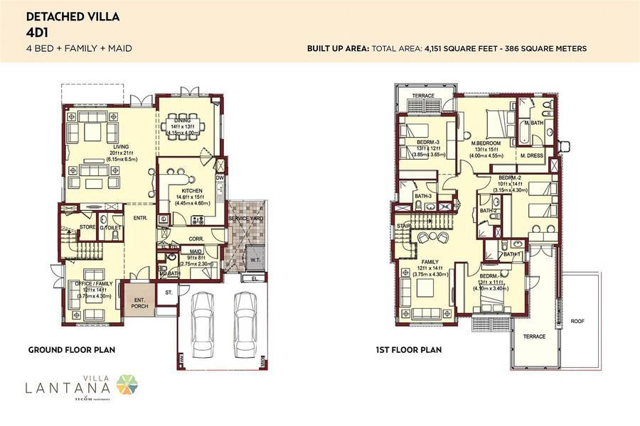 10 Rare Type 4D1 | 4 Bedroom | Detached Villa