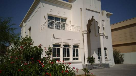 5 Bedroom Villa for Rent in Al Quoz, Dubai - Villa G 1 for Rent 5 Master Bedroom with Cabinet , Hall, Majlis ,Maid Room , Planted