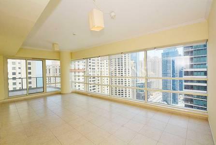 2 Bedroom Flat for Rent in Dubai Marina, Dubai - Beautiful 2BR in Al Sahab   Sea Side View