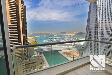 2 Bedroom Apartment for Sale in Dubai Marina, Dubai - Sea View | High Floor | Vacant | Motivated