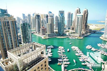 3 Bedroom Apartment for Sale in Dubai Marina, Dubai - Rented  | Full Marina View | 2356 sq.ft.