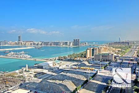 2 Bedroom Apartment for Sale in Dubai Marina, Dubai - Two Bedrooms | Full Sea View | 1376 sq ft