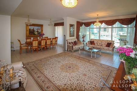 3 Bedroom Apartment for Sale in Dubai Marina, Dubai - Exclusive | Marina View | Three Bedrooms