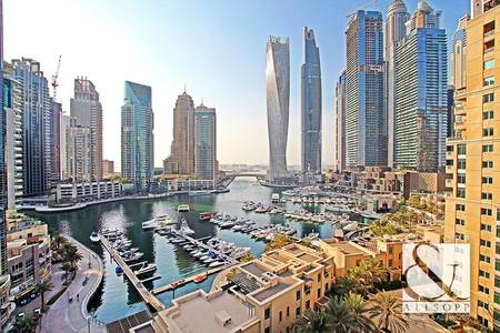 2 Bedroom Apartment for Sale in Dubai Marina, Dubai - 2 Bedroom Plus Study | Full Marina Views