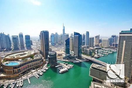 3 Bedroom Apartment for Sale in Dubai Marina, Dubai - Full Marina View | High Floor | Furnished