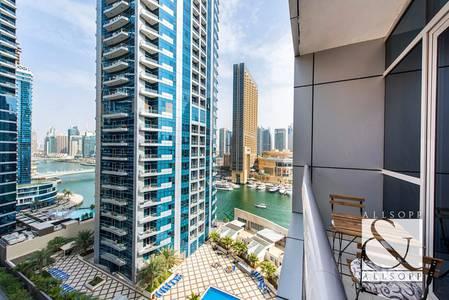 1 Bedroom Flat for Sale in Dubai Marina, Dubai - Partial Marina View | Vacant on Transfer