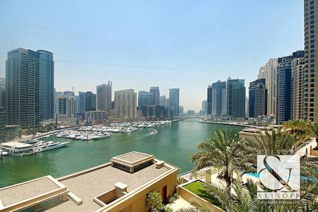 2 Bedroom Apartment for Sale in Dubai Marina, Dubai - Best and Largest 2 Bed | Full Marina View