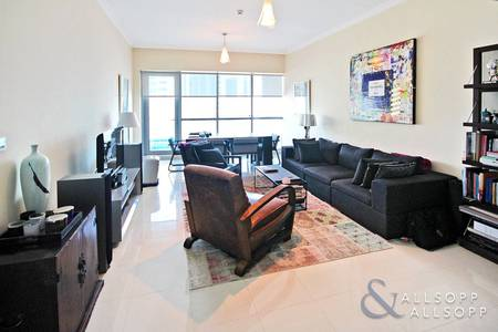 2 Bedroom Apartment for Sale in Dubai Marina, Dubai - 2 Bedroom | High Floor | Balcony | Rented