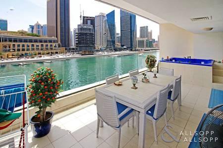 4 Bedroom Flat for Sale in Dubai Marina, Dubai - Triplex Villa | Panoramic Marina Views<BR/><BR/>