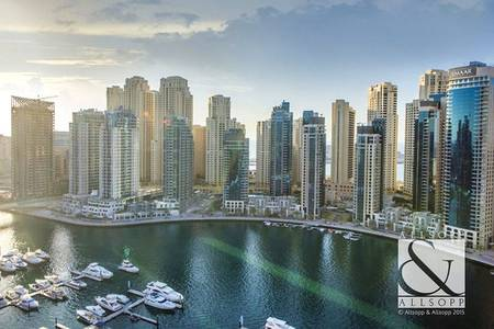 2 Bedroom Flat for Sale in Dubai Marina, Dubai - Marina View | 1,304 Sq Ft  | Two Bedroom