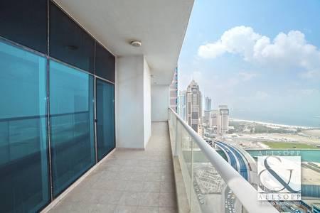 3 Bedroom Apartment for Sale in Dubai Marina, Dubai - Vacant | Sea Facing | 3888 sqft | Mid Floor
