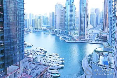 2 Bedroom Apartment for Rent in Dubai Marina, Dubai - Vacant | Full Marina View | Two Bedrooms