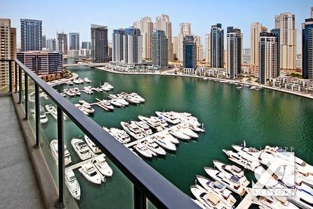2 Bedroom Apartment for Sale in Dubai Marina, Dubai - Full Marina View | Two Bed | Best Layout