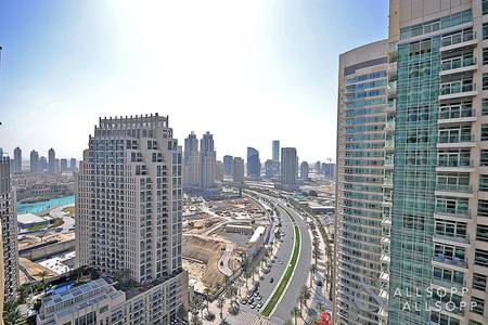 2 Bedroom Flat for Sale in Downtown Dubai, Dubai - Vacant | Boulevard View | 2.5 Bathrooms