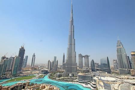 2 Bedroom Flat for Sale in Downtown Dubai, Dubai - Two Bedroom | Fountain Burj Khalifa View