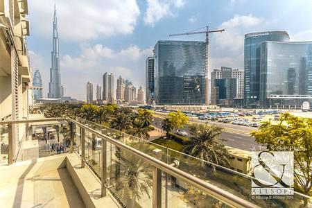 Partial Burj View | Podium | Maids Room