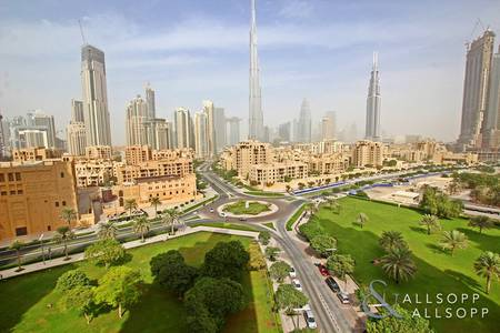 2 Bedroom Flat for Sale in Downtown Dubai, Dubai - Vacant | Two Bedroom | Burj Khalifa View