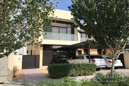 5 Bedroom Villa for Sale in DAMAC Hills (Akoya by DAMAC), Dubai - Opposite Pool | 5 Bedroom | Maids Room
