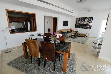 1 Bedroom Flat for Rent in Dubai Marina, Dubai - Largest 1 Bed In Development | Furnished